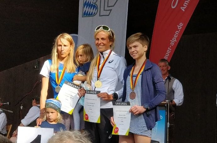 Hanna Gröber holt Bronze bei Berglauf-DM