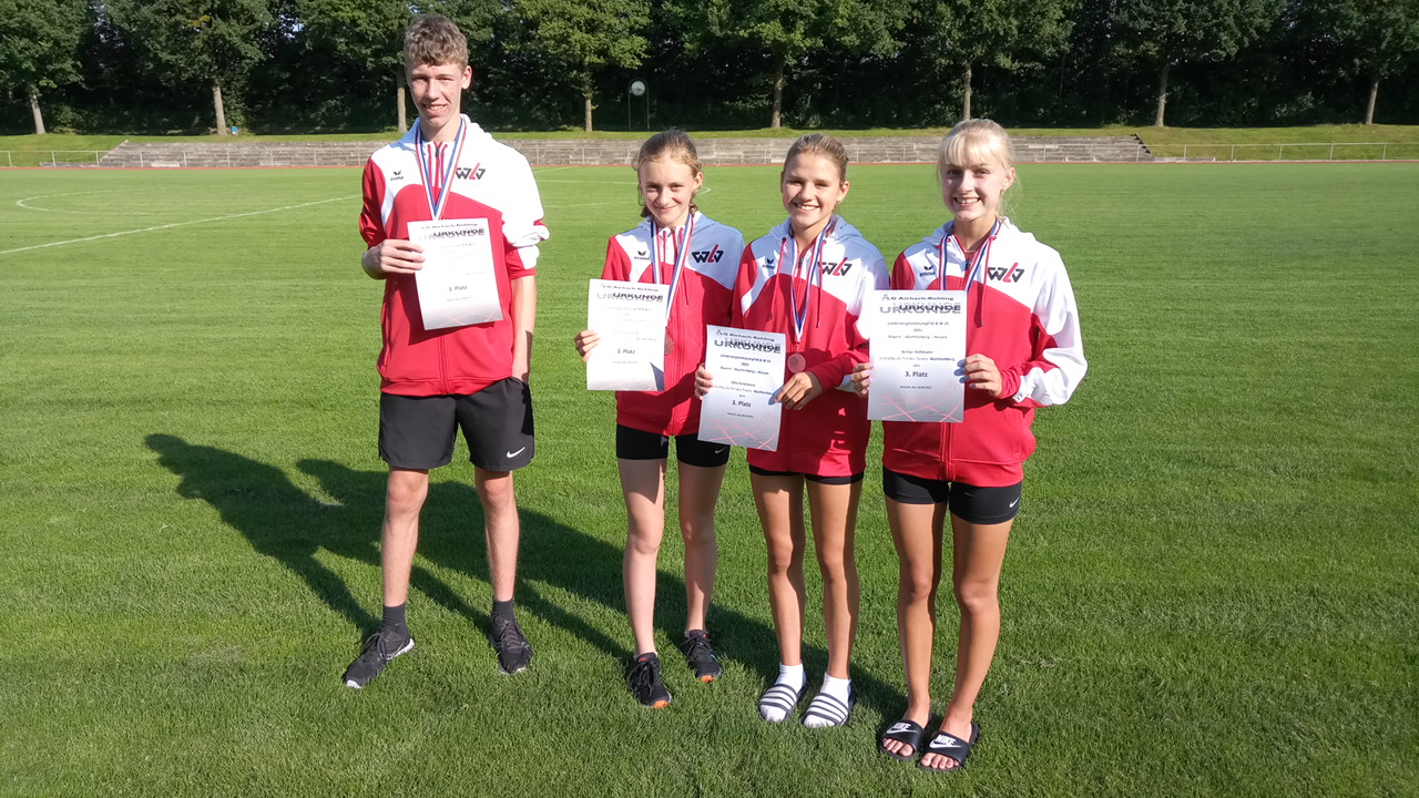 Tübinger U16-Athleten beim Länderkampf erfolgreich