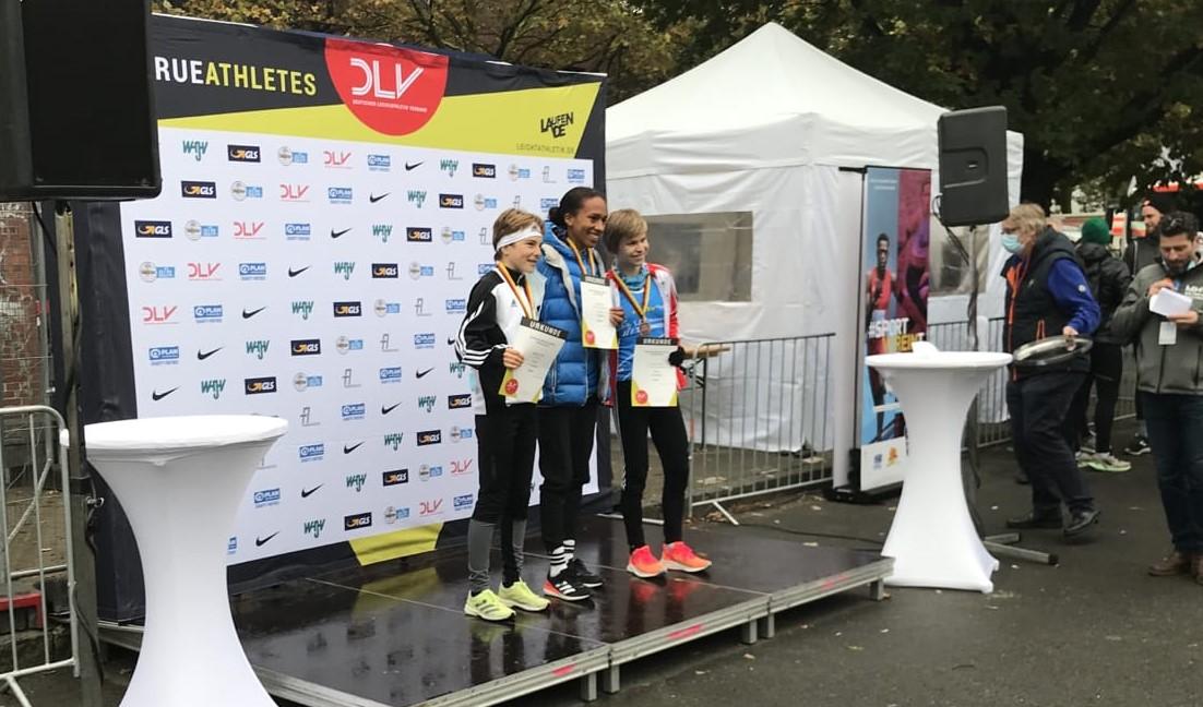 Hanna Gröber gewinnt Bronze bei Halbmarathon-DM