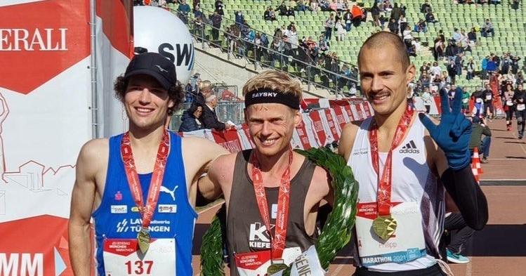 Mannschafts-Gold im Marathon, Silber für Tony Tomsich und starke Platzierungen bei den BW-10-Kilometer